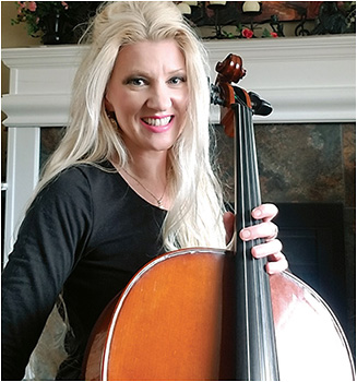 Ann Henderson, ophthalmic technician, is a cellist in the Delmar Community Orchestra. COURTESY ANN HENDERSON