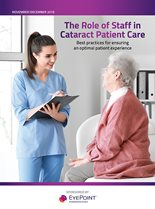 The Role of Staff in Cataract Patient Care